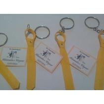 Mini Gravatinhas.kit Com 100, Com Strass, Cartão E Chaveiro