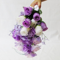 Buquê Bouquet Casamento/noiva Cascata Modelo Grape Fresh