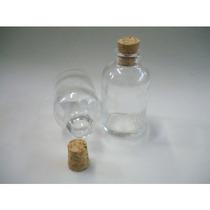 Frasco Penicilina Vidro 30 Ml C/ Rolha Pacote C/ 50 Unid