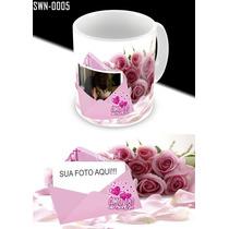 Caneca Personalizada Amor - Rosas - (swn-0005)