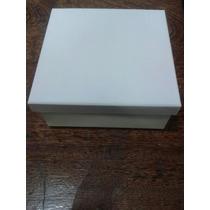 Kit Com 10caixas Em Mdf Pintadas De Branco.frete Mais Barato
