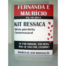 50 Caixas De Kit Ressaca