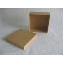 10 Caixas Mdf 15x15x7 Para Forrar Com Tecido Artesanato