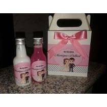 10 Kits Casamento Sabonete Liquido, Creme Hidratante Ou Sais