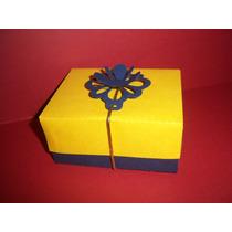 Caixa Decorada Para Presente - 5 Unidades