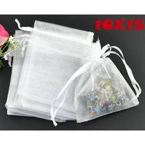 Saquinhos De Organza 10 X15 Cm Kit 50 Saquinhos