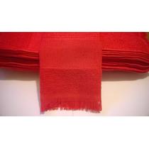 Toalhinha Vermelha - 10 Unid \ Casamento Aniversário Brinde