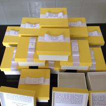 Caixas Para Convite Padrinhos 10x10x5