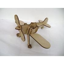 Avião Madeira Mdf Laser, Brinquedo, Lembrancinha Avião
