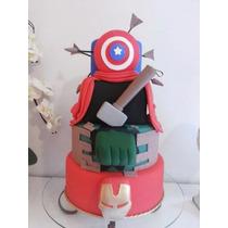 Bolo Fake, Falso Os Vingadores (the Avengers)