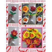 10 Rosas Porta Bombom De Eva Com Bombom Serenata