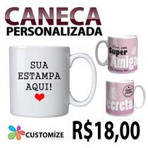 Caneca De Porcelana Personalizada
