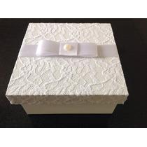 Caixa Convite De Padrinhos Para Casamento 15x15x5