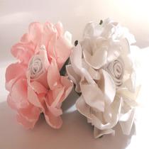 Forminhas, Flores Em Tecido Dália