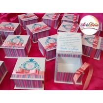 Caixa Convite Box, Bem Casado - Padrinho De Casamento