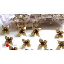 Flor De Lírio De Origami - 100 Flores - Papel 9cm