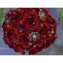 Buque De Noiva, Bouquet De Pedras E Tecidos