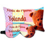 Almofada Personalizada - 30x20 + Mascara Dormir Personaliza