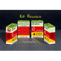 Caixinha Kit Ressaca, Kit Buteco, Kit Formatura - 30 Unid.