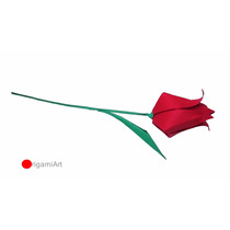 Origami - Tulipas - 3 Unidades
