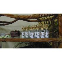20 Mini Garrafinhas De Vidro 50 Ml Para Personalizar