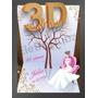 Aniversário 15 Anos Debutante Árvore Digitais 3d