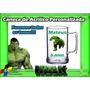 15 Canecas Acrílico Personalizada Hulk 300ml
