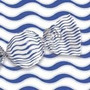 Papel De Trufa Ondas Azul - Pct C/ 100 Und