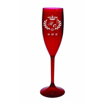 Taça Champagne Personalizada Acrílico 100 Unidades.