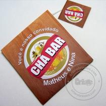 Convite Para Chá Bar/ Boteco