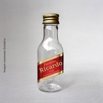 Garrafinha De Vidro 50ml Personalizada Red Label