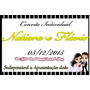 Convite Individual Para Casamento 5*8 - 50 Unidades