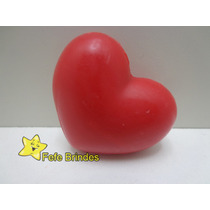 Mini Sabonete Coração Médio - 5cm - Pacote Com 20 Unidades