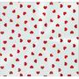Saco Transparente Decorado Cuore Vermelho - Pct C/ 50 Unid