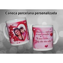 Caneca Personalizada Porcelana Foto-logo Da Empresa-lembran
