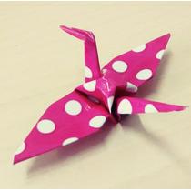 Tsuru Origami - Kit Aniversário - Lembrancinha - Festa - Cas