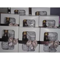 Mini Vinho Personalizado Na Caixinha+taça+decoração