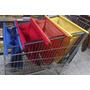 Kit 4 Sacolas Práticas Supermercado, Presente De Natal E Etc