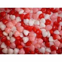 500gr Bala Balinha Coração Lembrancinha Mint To Be