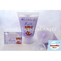 Mini Bisnagas C/ Hidratante, Sabonete Liquido Kit C/ 50 Unid