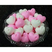 50 Mini Sabonetes Coração - Lembrancinhas - Sabonetinhos