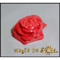 Sabonete Artesanal Rosas E Folhas - 10 Unidades