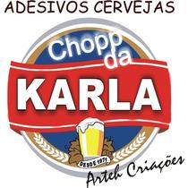 Rótulos No Vinil Personalizados Logos Cervejas 50 Unidades