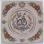 Prato Para Bodas De Prata Porcelana Germer 21 Cm Artesanal