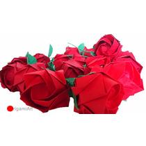 Origami - Rosas - 100 Unidades