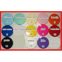 100 Latinha Plastica Coloridas 5x1 Para Personalizar