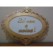 Placa La Vem A Noiva