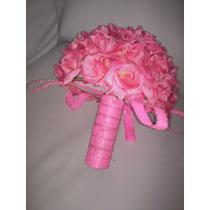 Bouquet De Noiva Lindo Com Flores Artificias E Strass