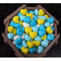 200 Mini Sabonetes De Coração - Lembrancinhas