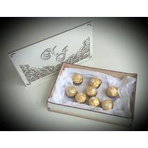 Caixa Convite Casamento Mdf Branco Kit 10 Unidades